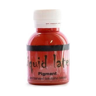 Líčidla - Make up - krev - Pigment do latexu červený