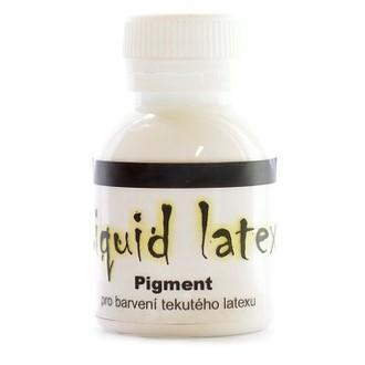 Líčidla - Make up - krev - Pigment do latexu bílý