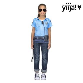 Kostýmy pro děti - Dětské tričko 3D Policie