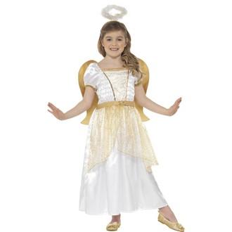 Čert - Mikuláš - Anděl - Dětský kostým Princezna anděl
