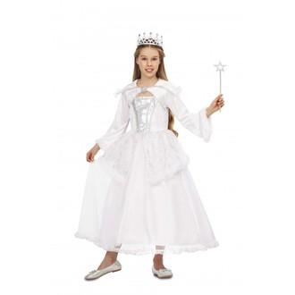 Čert - Mikuláš - Anděl - Dětský kostým Sněhová královna