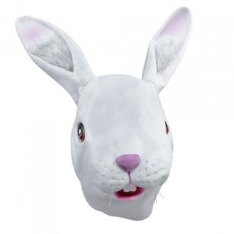 Masky - Škrabošky - Maska Bílý králík