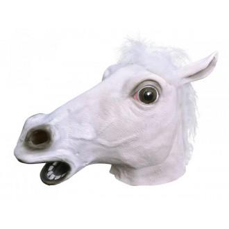 Masky - Škrabošky - Maska Bílý kůň