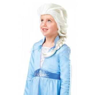 Paruky - Dětská paruka Princezna Elsa