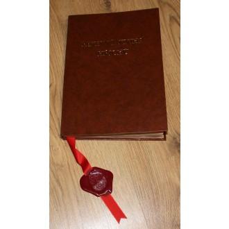 Čert - Mikuláš - Anděl - Pekelná kniha hříchů © svítící