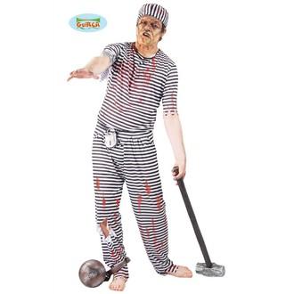 Kostýmy pro dospělé - kostým halloween  zombie vězeň