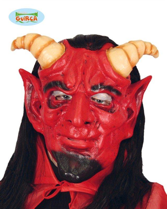 Kvalitní maska čerta včetně vlasů - Kostymy-karneval.cz 0e611f77f5