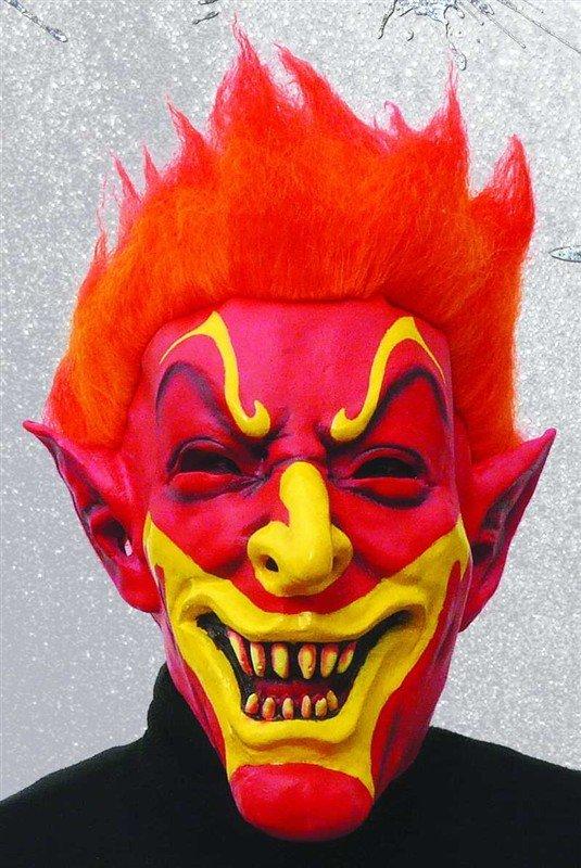 Čert - Mikuláš - Anděl - maska čerta - smějící se čert 415f273b78