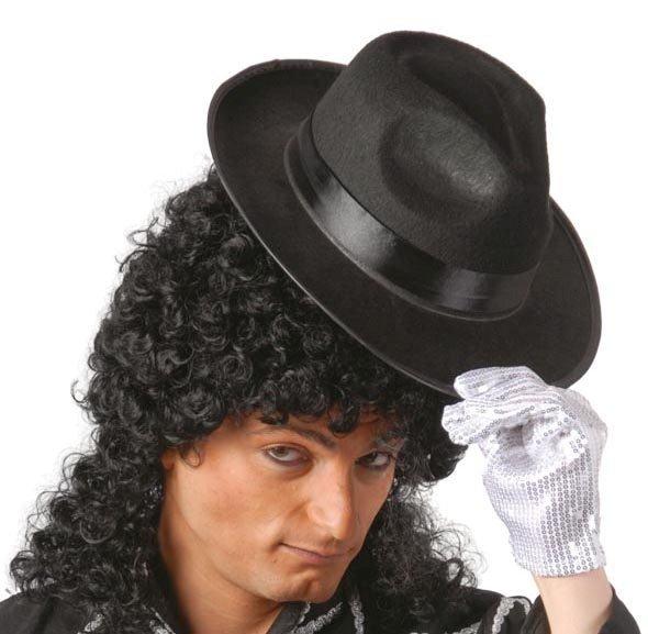 Klobouky - čepice - čelenky - klobouk Michael Jackson - černý ae6dd98566