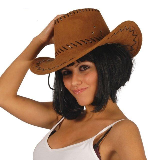 Klobouky - čepice - čelenky - luxusní kovbojský klobouk - hnědý 267249b0bd