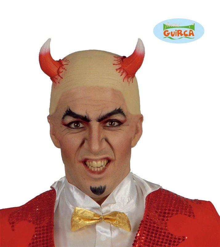 Čert - Mikuláš - Anděl - maska Démon s rohy abbac76239