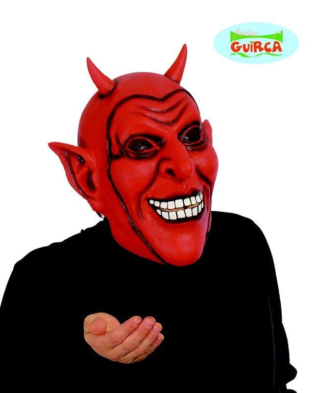 Čert - Mikuláš - Anděl - maska čerta 7b34a21812