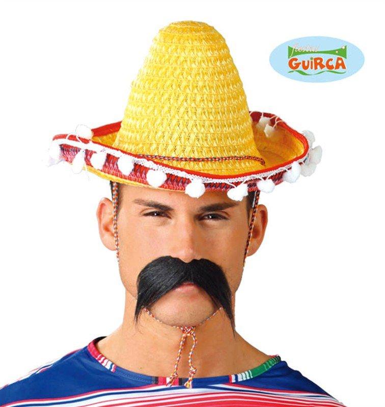 Klobouky - čepice - čelenky - Mexický klobouk 33cm 58113d968c