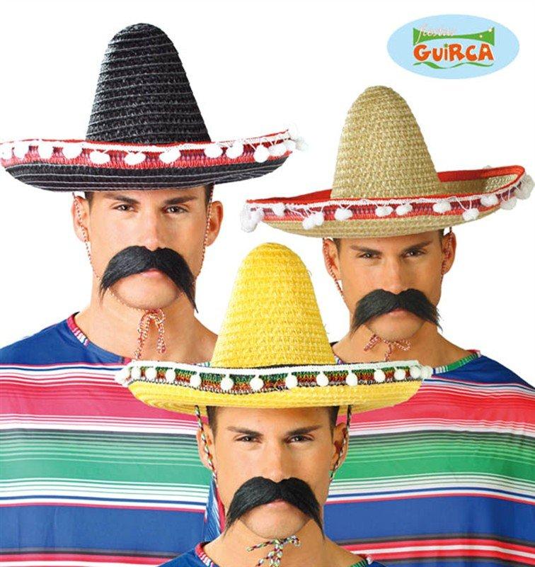 Klobouky - čepice - čelenky - Mexický klobouk 45cm 76cbb87fe3
