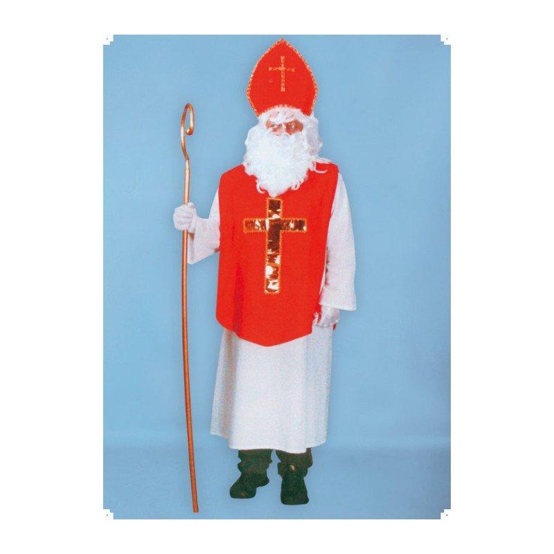 levný kostým Mikuláš - kompletní kostým Mikuláš s čepkou - Kostymy ... 7e3e8876546