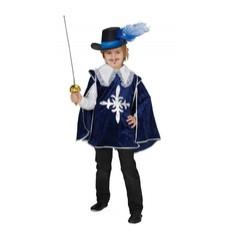 Dětský kostým Mušketýr modrý