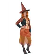 levný kostým čarodejnice s kloboukem