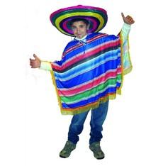 dětský kostým Poncho