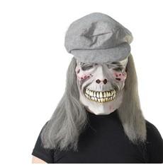maska lebka s čepicí