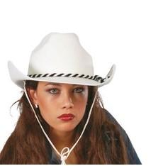 Bílý kovbojský klobouk Sara