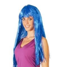 Dámská modrá paruka Iris