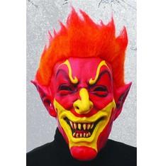 maska čerta - smějící se čert