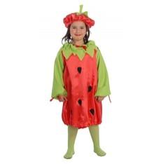 Dětský karnevalový kostým Jahoda