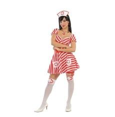 Kostým sestřičky červeno-bílá