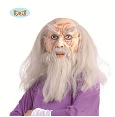maska Merlin s vlasy