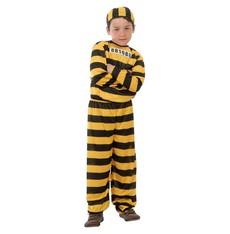 Dětský karnevalový kostým Trestanec