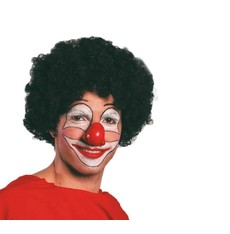 paruka klauna - černá