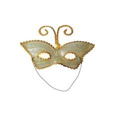 škraboška motýlek - zlatý