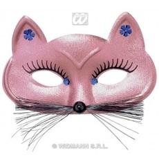 škraboška Kočka růžová