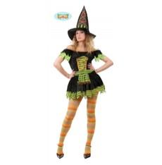 kostým sexy čarodejnice s kloboukem