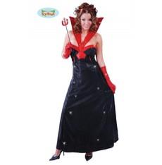 kostým hollywoodské ďáblice s flitry