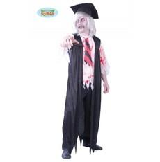 kostým Halloween  profesor zombie