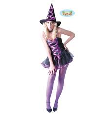 kostým sexy čarodejnice fialový