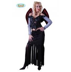 kostým gotické dámy s křídly