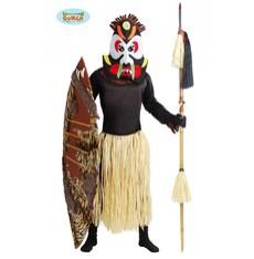 kostým domorodec