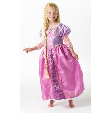 Kostým princezna Locika s copem - šaty Rapunzel
