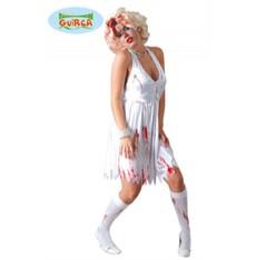 Dámský halloweenský kostým zombie Marylin
