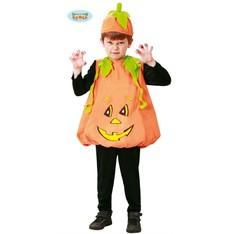 Dětský kostým dýně na halloween