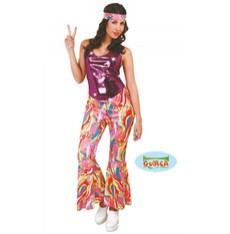 Dámský kostým hippies