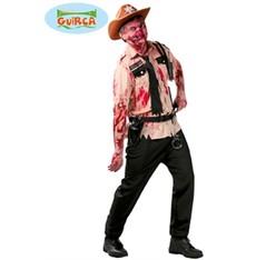 halloweenský kostým šerif zombie