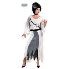 Kostým halloween  lady Frankenstein