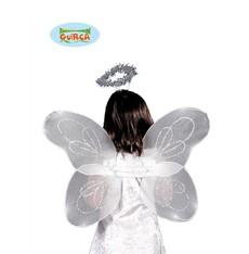 křídla se svatozáří šifonová