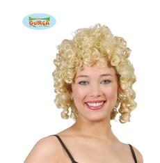 blond paruka s kudrlinkama