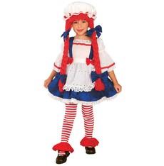Dětský kostým Pipi dlouhá punčocha