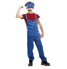 Dětský kostým Červený instalatér