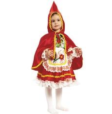 Dětský kostým Červená Karkulka I